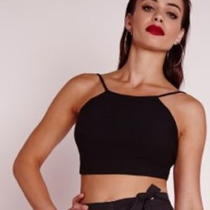 Missguided Tops - Missguided: Rib Knitted Crop Top